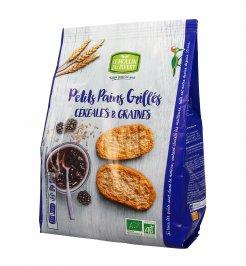 Crostini Bio Cereali e Semi - Petits Pains Grilles