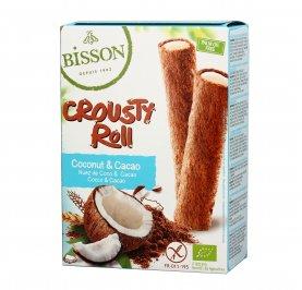 Snack Crousty Roll Cacao e Crema di Cocco - Senza Glutine