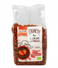 Crunchy Bio al Cacao con Fragole