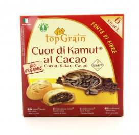 Cuor KAMUT® - grano khorasan al Cacao Bio - Top Grain