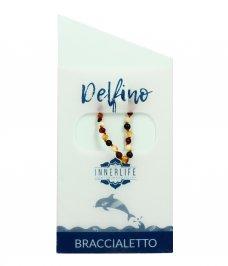 Braccialetto in Ambra Baby - Delfino