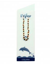 Collana di Ambra Baby - Delfino