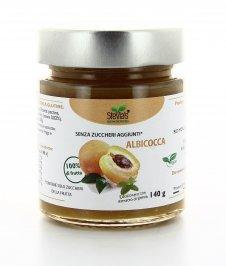 Confettura di Albicocca con Estratto di Stevia