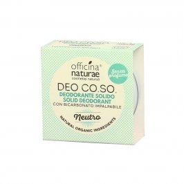 """Deodorante Solido Naturale """"Neutro"""" (Senza Profumo) - Co.so."""