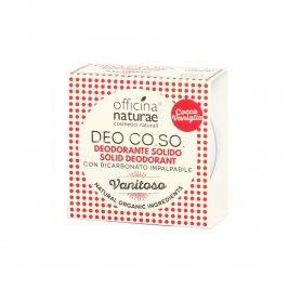 """Deodorante Solido Naturale """"Vanitoso"""" - Co.so."""