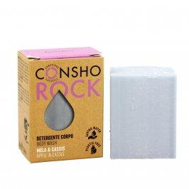 Detergente Corpo Solido Mela e Cassis - Consho Rock