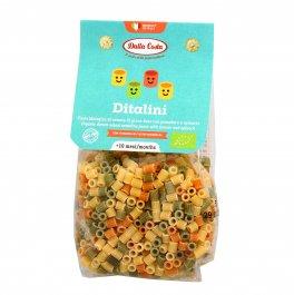 Ditalini Pasta Semola Grano Duro con Pomodoro e Spinaci