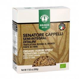 Ditalini Pasta Senatore Cappelli Semi-Integrale