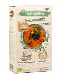 Preparato per Brodo Vegetale con Carota, Sedano e Cipolla