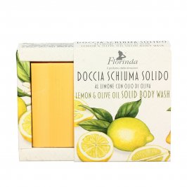 Doccia Schiuma Solido al Limone con Olio di Oliva
