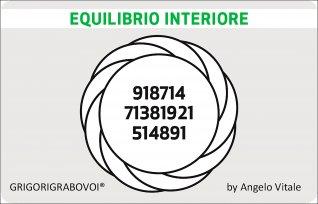 Tessera Radionica 88 - Equilibrio Interiore