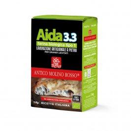 Farina Biologica Grano Tipo 1 - Aida 3.3