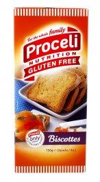 FETTE BISCOTTATE - BISCOTTES Croccanti, leggere e buone. 100% senza glutine di Proceli