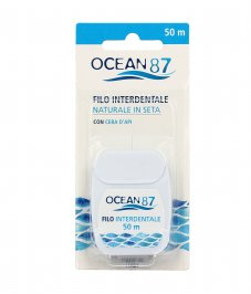 Filo Interdentale Naturale in Seta - Ocean 87