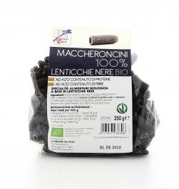Maccheroncini 100% Lenticchie Nere