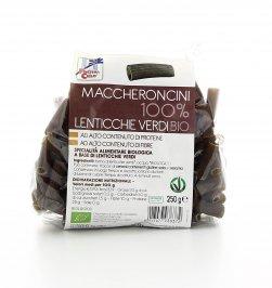 Maccheroncini 100% Lenticchie Verdi