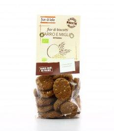 Biscotti al Farro Integrale e Miglio Bio