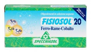 Fisiosol 20 - Ferro-Rame-Cobalto