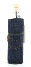 Bottiglia Vetro Programmato Jeans Design