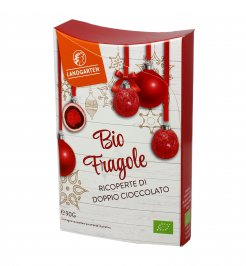 Fragole Bio Ricoperte di Doppio Cioccolato