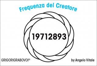 Tessera Radionica - Frequenza del Creatore
