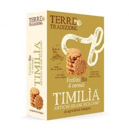 Frollini Bio ai 4 Cereali - Timilìa Antichi Grani Siciliani