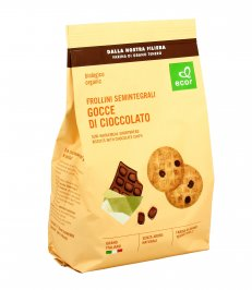 Frollini Semintegrali Gocce di Cioccolato