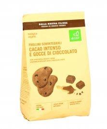 Frollini Semintegrali con Gocce di Cioccolato