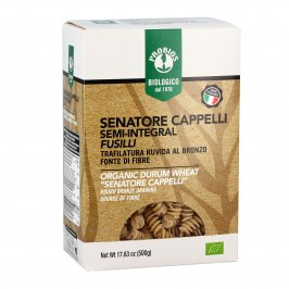 Fusilli Pasta Senatore Cappelli Semi-Integrale