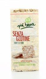 Gallette di Grano Saraceno, Riso, Quinoa e Semi di Lino