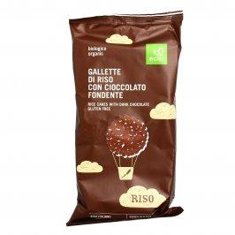Gallette Bio di Riso con Cioccolato Fondente - Senza Glutine