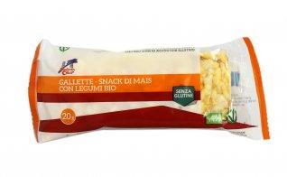 Gallette - Snack di Mais con Legumi Bio