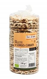 Gallette di Sorgo e Canapa Bio