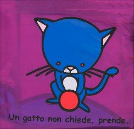 Borsa Pieghevole Viola - Gatto
