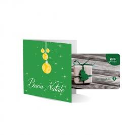 "Gift Card Fisica ""Albero"" - 70 Euro"