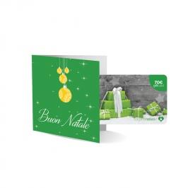 "Gift Card Fisica ""Pacchi Regalo"" - 70 Euro"