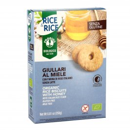 Biscotti Giullari al Miele - Senza Glutine - Rice & Rice