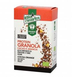 Granola Bio Proteica Cacao e Arancia - Bio Champion