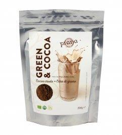 Mix in Polvere Cacao Crudo ed Erba di Grano - Green&Cocoa