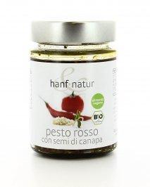 Pesto Rosso con Semi di Canapa Bio