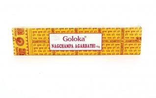 Incenso Nag Champa Goloka Giallo
