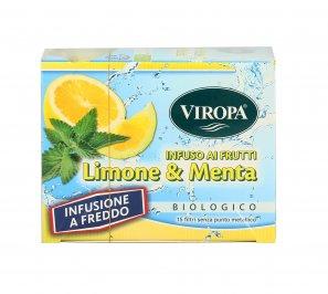 Infuso a Freddo Bio - Limone e Menta
