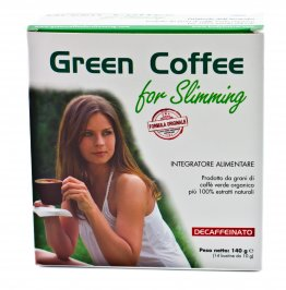 Integratore Alimentare Green Coffee for Slimming - Decaffeinato