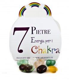 Kit 7 Pietre Per i Chakra
