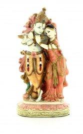 Statuetta Krishna e Radha