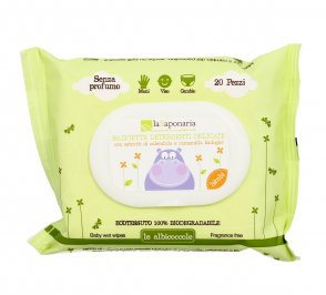 Salviette Detergenti Delicate - Le Albicoccole