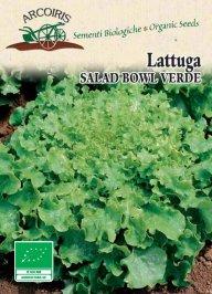 Semi di Lattuga Salad Bowl Verde - 3 Gr
