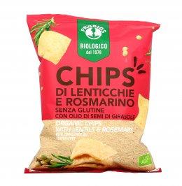 Chips Bio di Lenticchie e Rosmarino - Senza Glutine