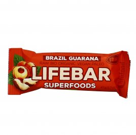 Lifebar Plus alle Noci Brasiliane e Guaranà