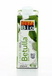 BEVANDA VEGETALE A BASE DI LINFA DI BETULLA 100% biologica e senza glutine. Ideale per rinfrescare la tua giornata di Isola Bio